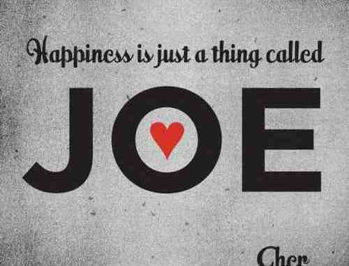 Cher – Happiness Is Just a Thing Called Joe (download)