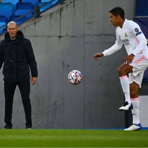 Zinedine Zidane Took The Blame For Real Madrid's Loss