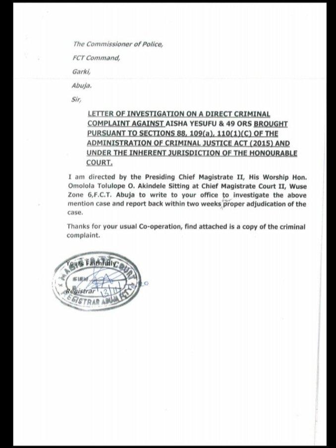 EndSars Court orders police to probe Davido, Wizkid, Falz, Moe, Tiwa Savage, others