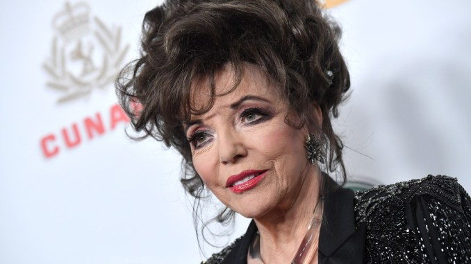 Joan Collins Jewellery Collection Auctioned For More Than $290,000 (£220,000)