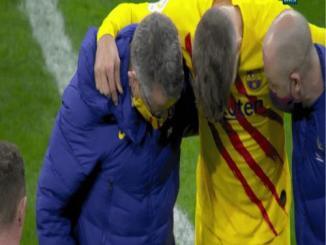 Pique Left The Field In Tears