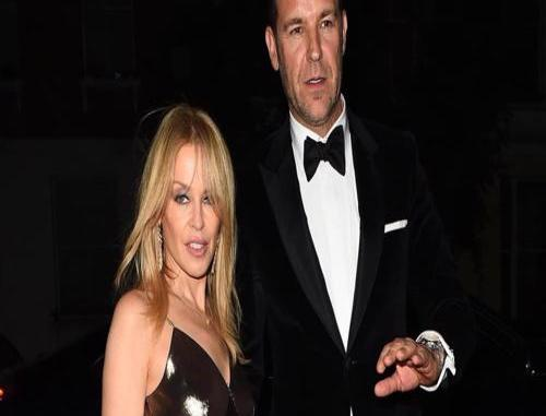 Kylie Minogue Engaged To Paul Solomons