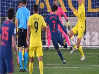 Atletico Secured A Win against Villarreal