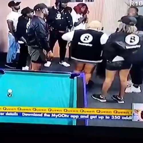 Boma & Angel BBnaija fight video as they hurl insults at one another