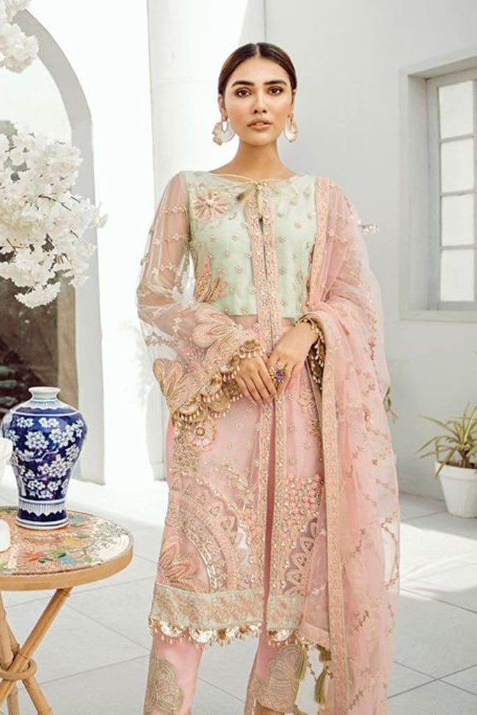 AKBAR ASLAM-Chiffon Collection-Formals-AIYANA