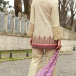 Mahiymaan By Al Zohaib Embroidered Lawn- 8B