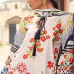 MINA HASAN   EMBROIDERED LAWN FESTIVE Collection'18   8A