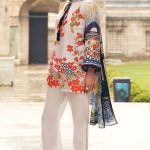 Mina Hasan Embroidered Lawn-Festive Collection- 8A