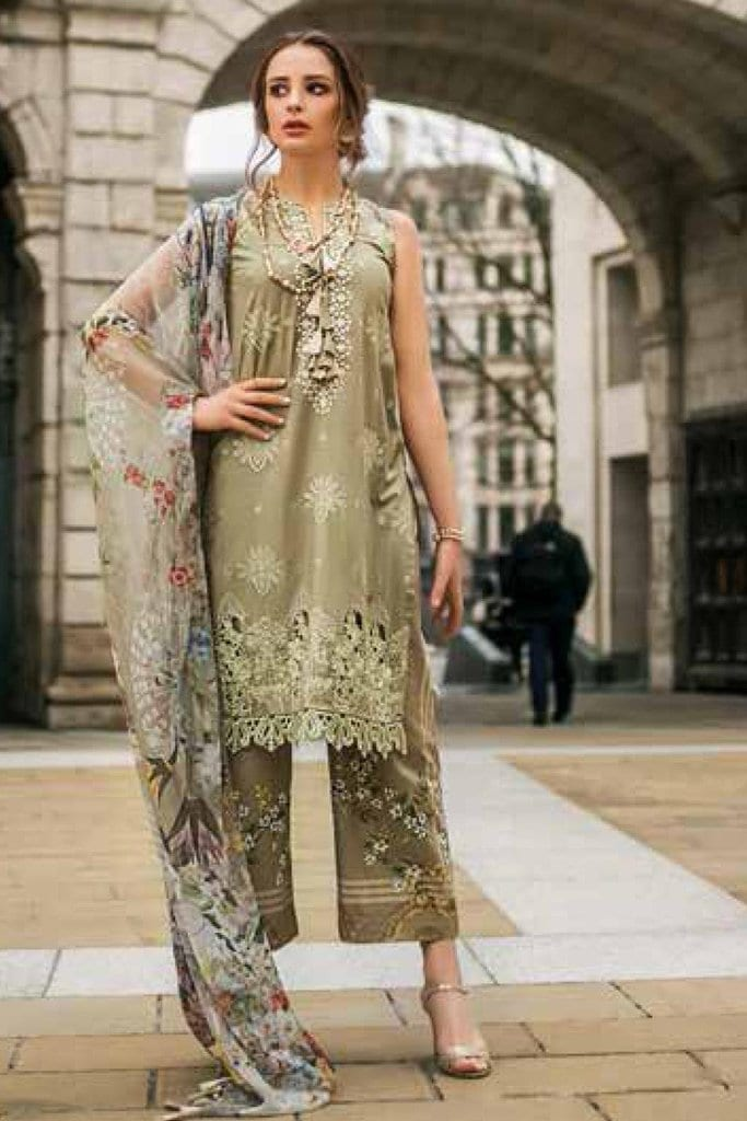 Mina hasan luxury lawn festive collection 2019 mh19f 8b 1