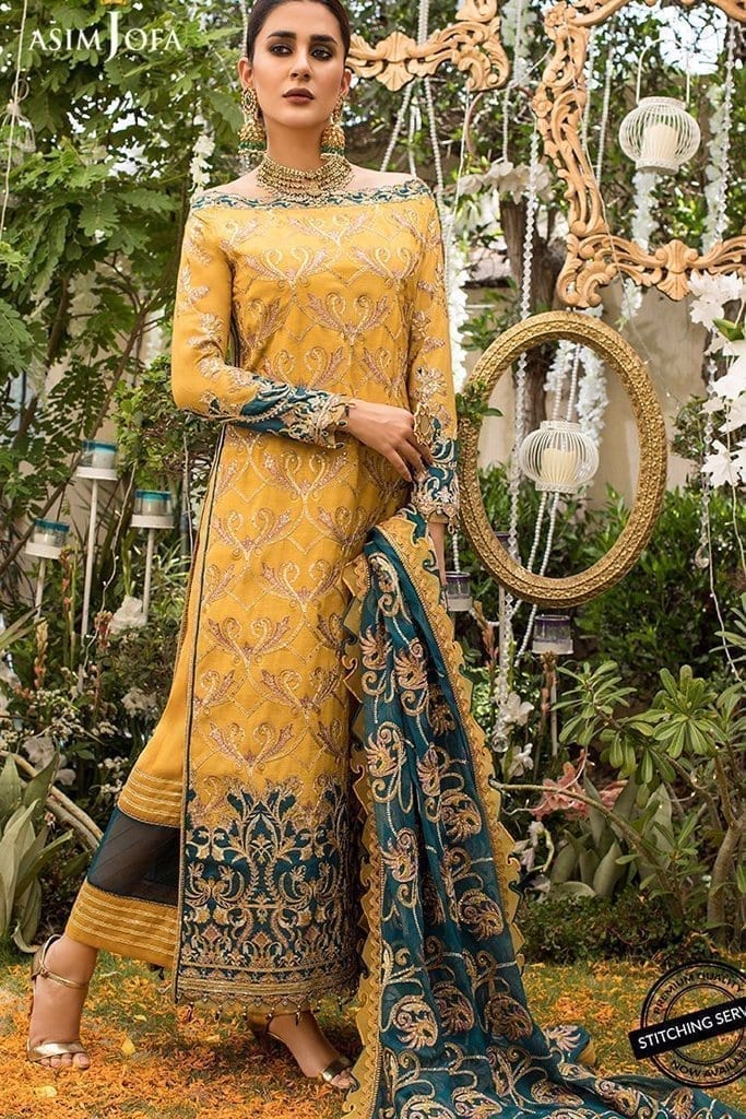 ASIM JOFA | NAUBAHAR CHIFFON COLLECTION | AJN-04