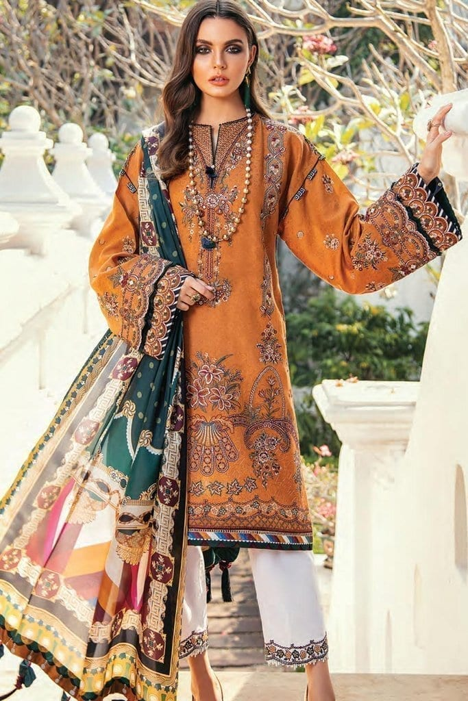 Baroque premium lawn eid collection 2020 bq20e 05 sea radiance 1