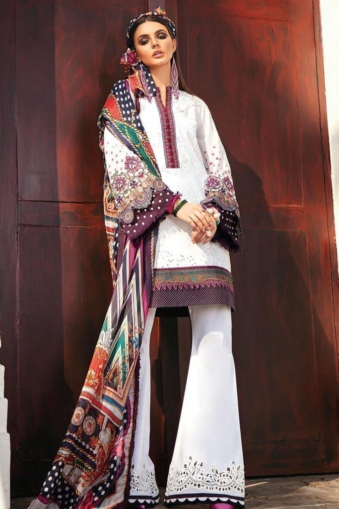Baroque premium lawn eid collection 2020 bq20e 09 cloud wave 1