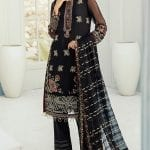 JANAAN by XENIA Formals Embroidered Chiffon-02 BENAFSHA– Luxury  Collection