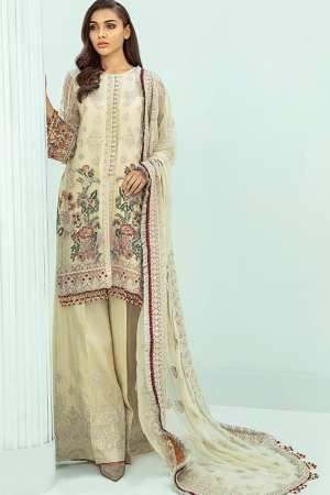 JANAAN by XENIA Formals Embroidered Chiffon- 04 AEZEEN – Luxury Collection