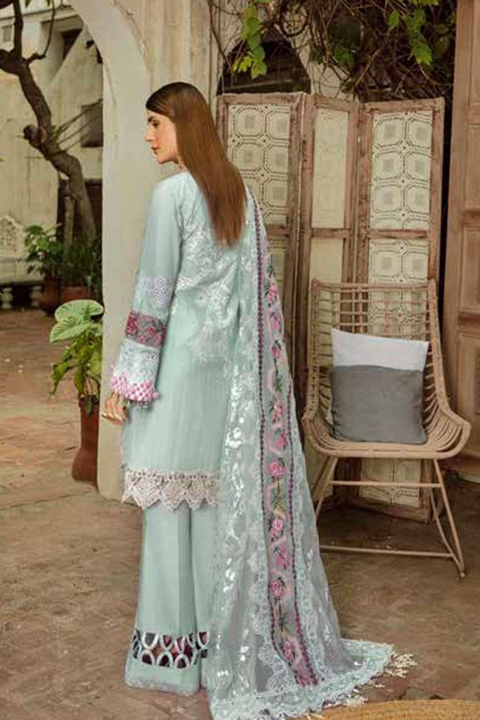 Maryam hussain festive lawn collection 2020 mrh20f d 02 french knot 2