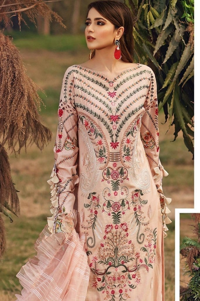 Shiza hassan luxury lawn 2020 collection sh20l 5 a summer breeze 1
