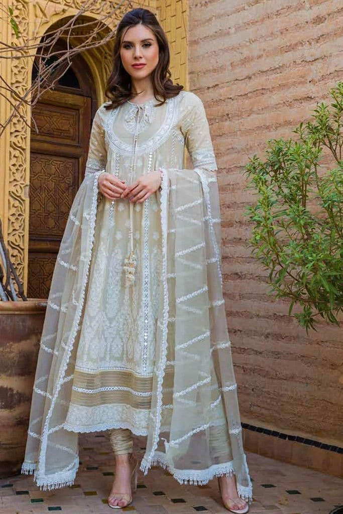 Sobia nazir luxury lawn 2020 collection l20sn 9 b biege 1
