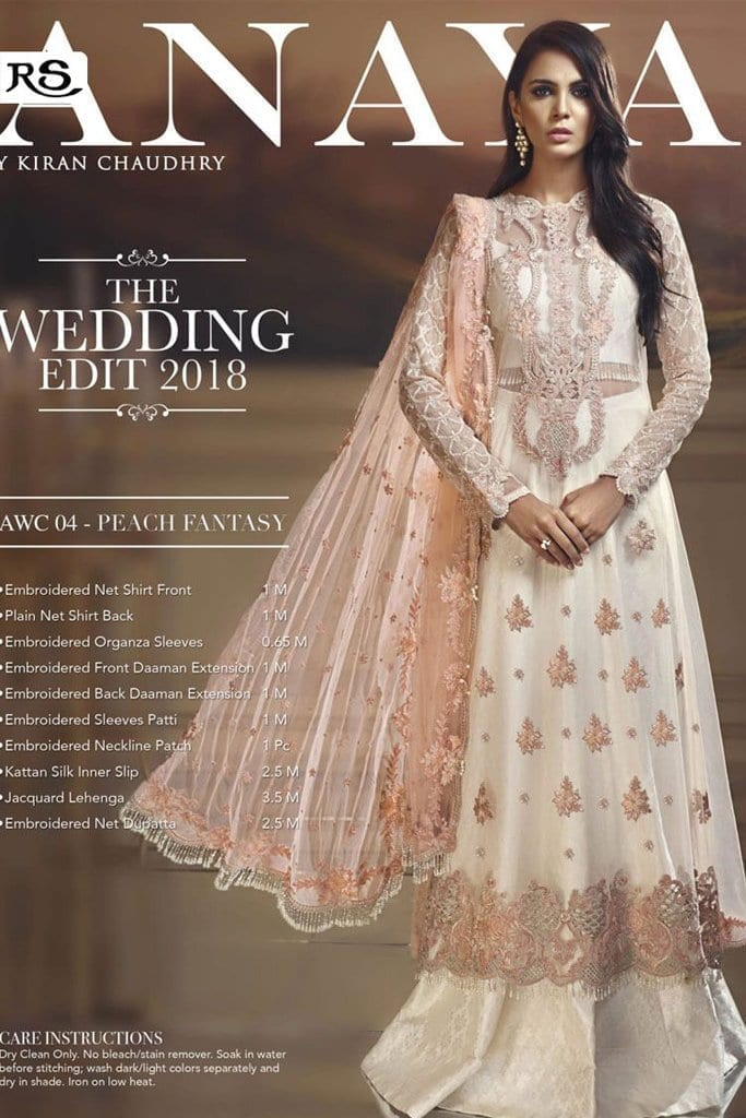 ANAYA | Wedding Collection | 04-Peach Fantasy