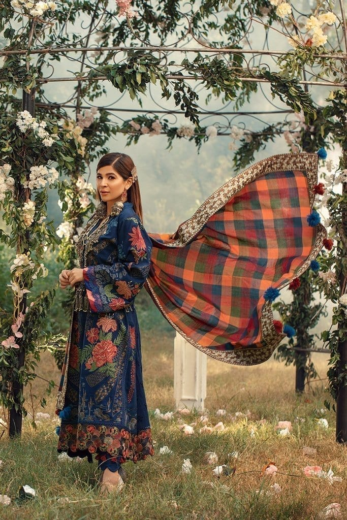 MARYAM HUSSAIN | WINTER SHAWL COLLECTION '20 | Marina