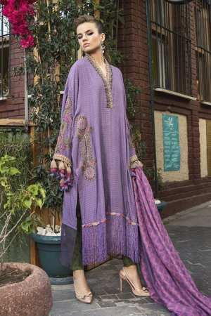 MARIA B | LINEN | WINTER*20 | DL-803-Lilac