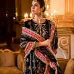 Noor By Saadia Asad | Festive Embroidered Collection | D4- Lerae