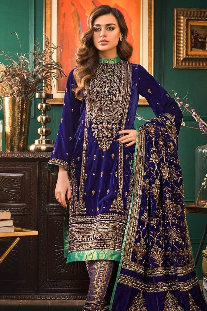 GUL AHMED | NOOR-E-CHASHAM | Velvet Collection | VLV33