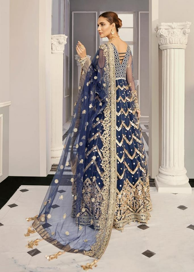 AKBAR ASLAM   FORMALS Collection   PERIWINKLE