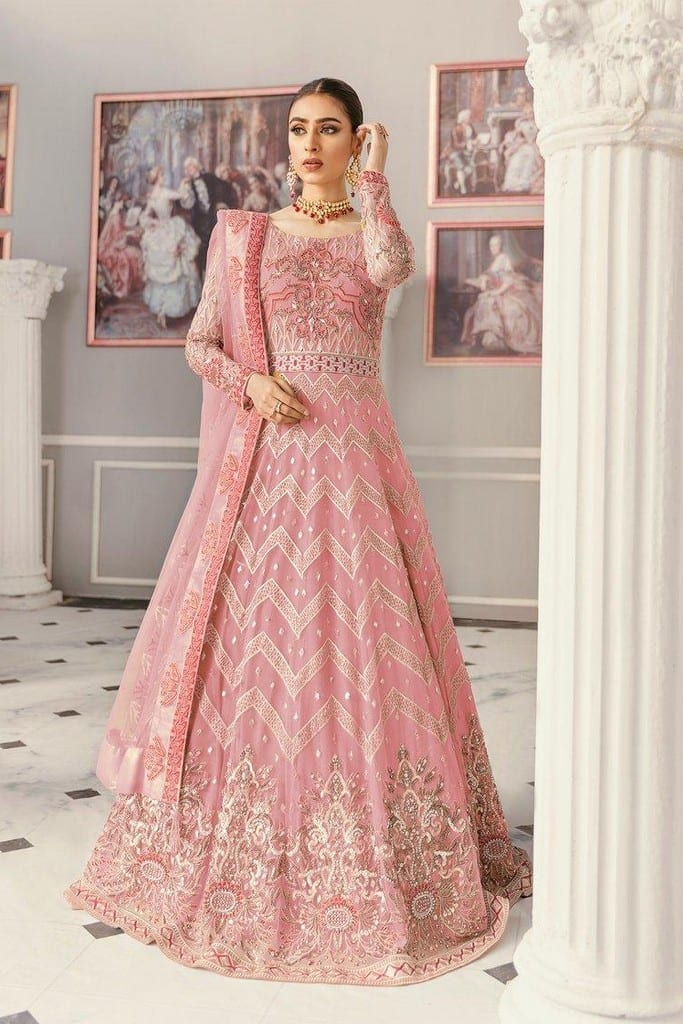 AKBAR ASLAM | FORMALS Collection | YARROW PINK