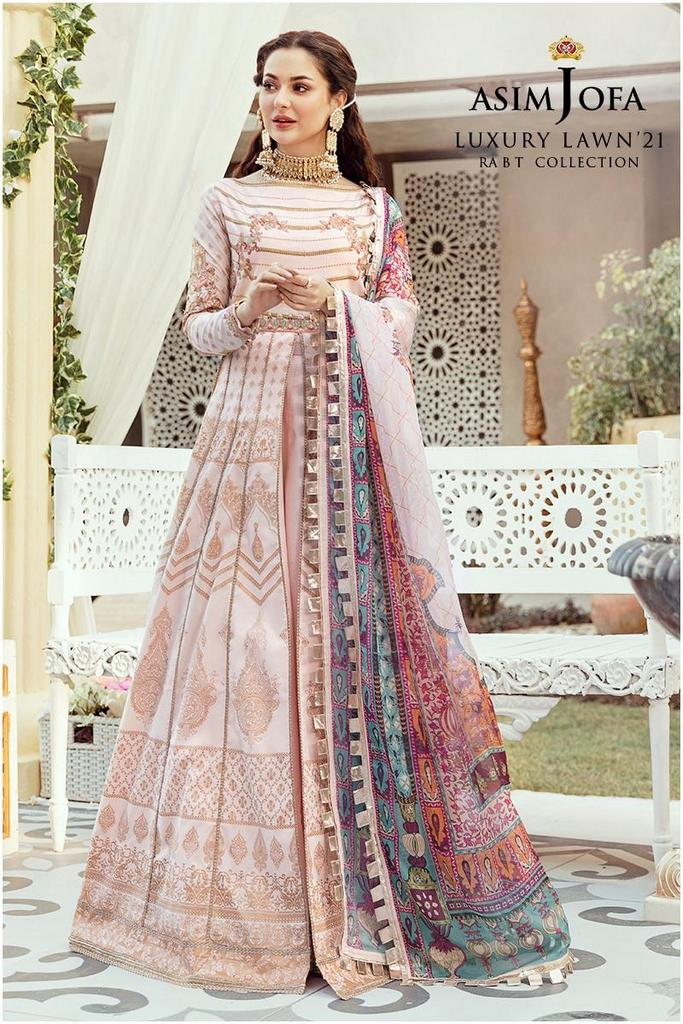 ASIM JOFA | RABT LUXURY LAWN Collection | AJRL-02