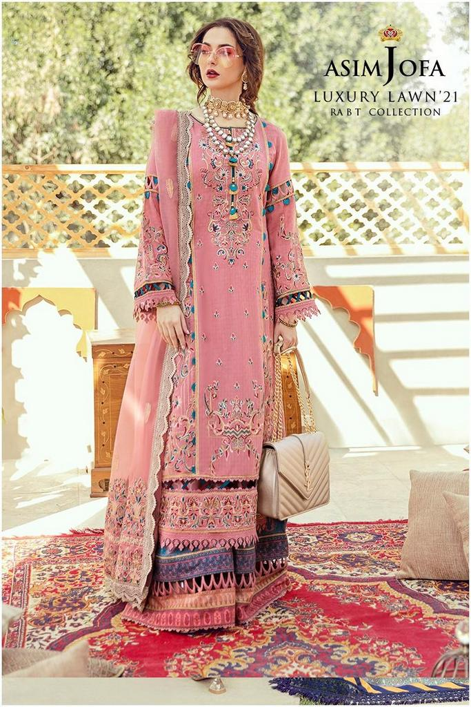 ASIM JOFA | RABT LUXURY LAWN Collection | ARJL-04