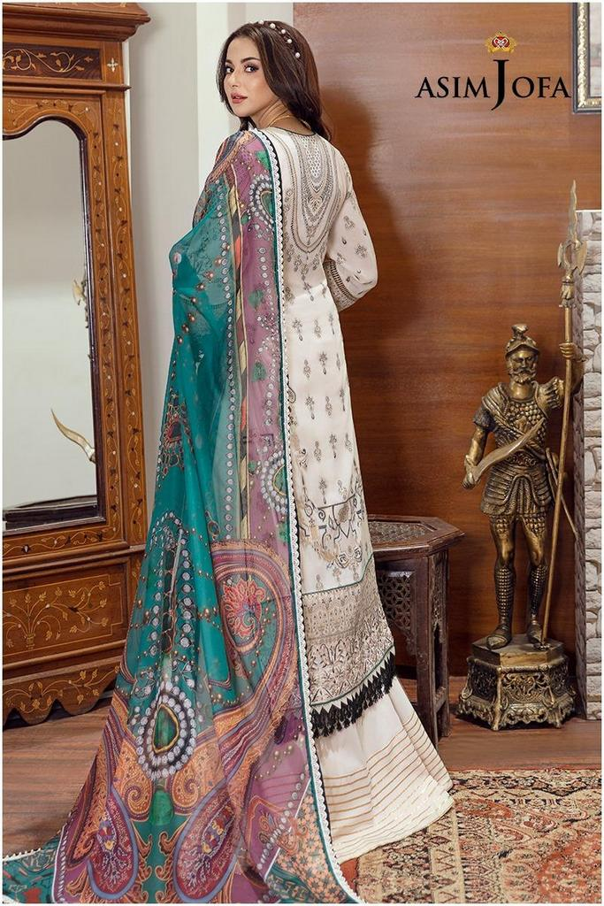 ASIM JOFA | RABT LUXURY LAWN Collection | ARJL-15