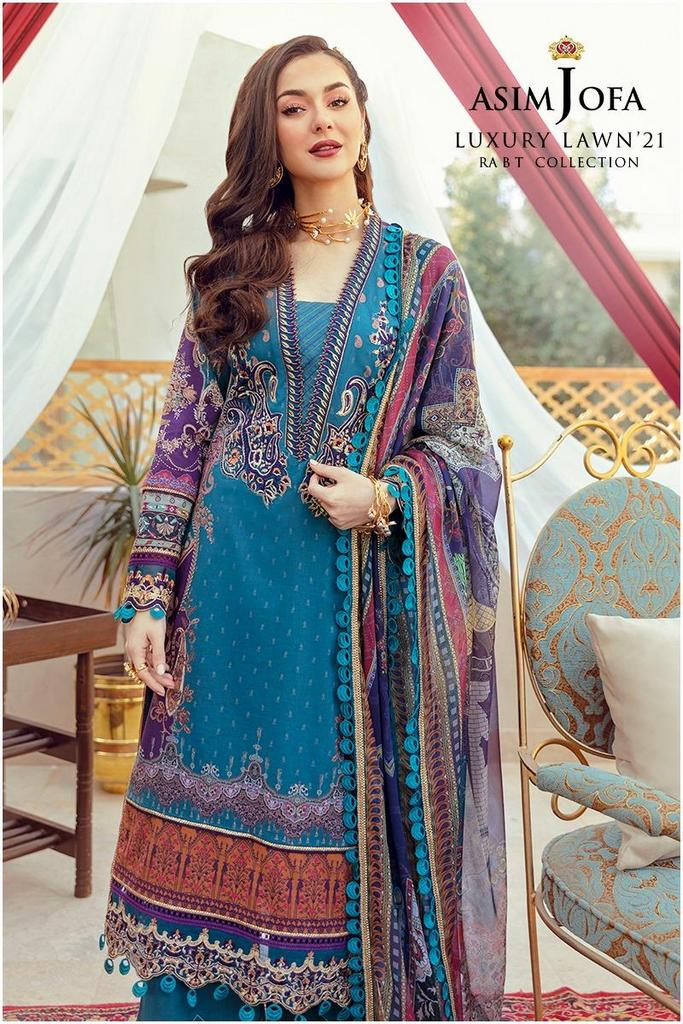 ASIM JOFA | RABT LUXURY LAWN Collection | AJRL-08