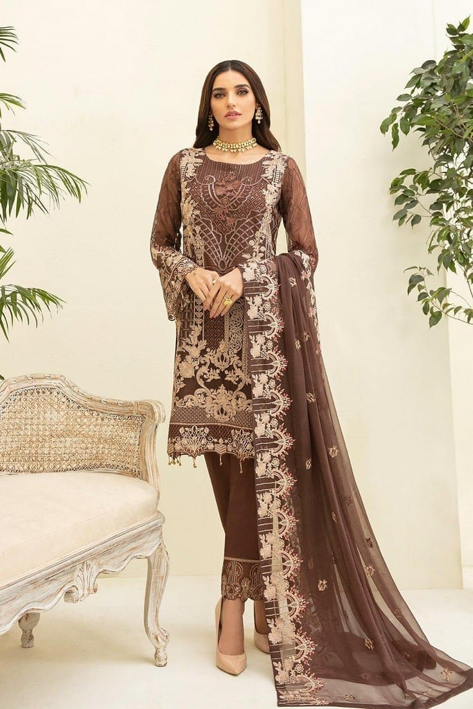 RAMSHA | CHERVAN EMBROIDERED Collection | A-309