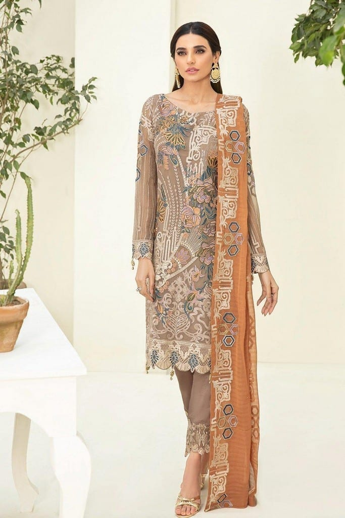 RAMSHA | CHERVAN EMBROIDERED Collection | A-302