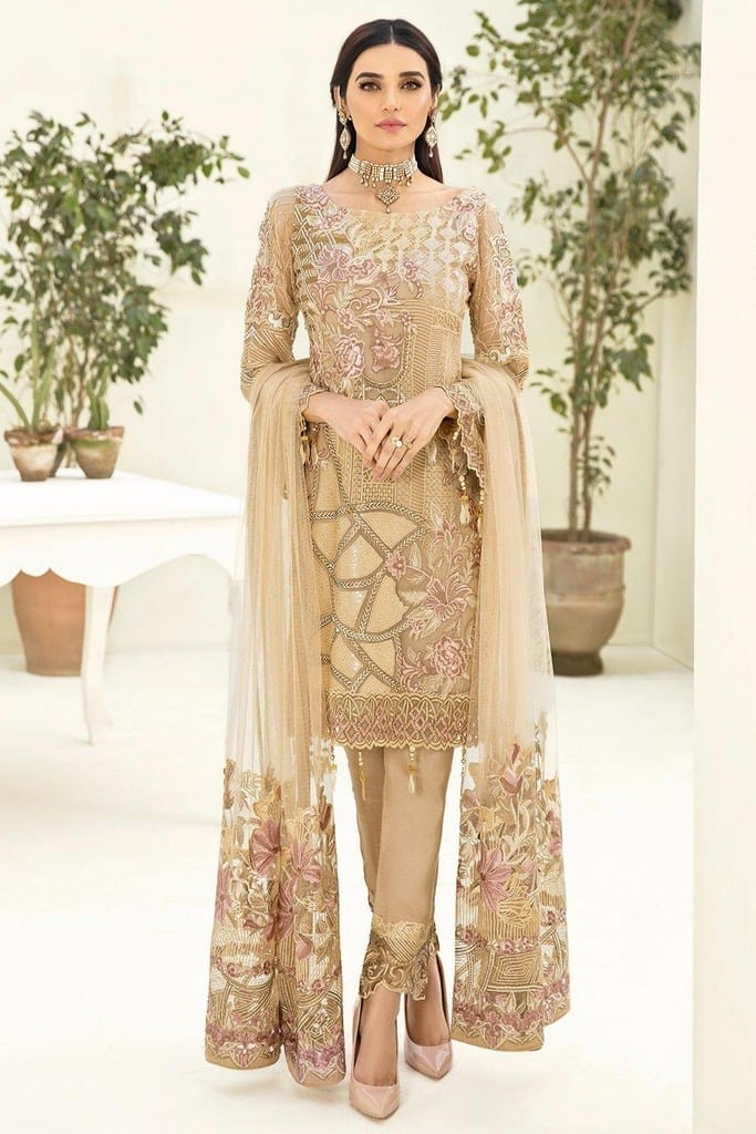 RAMSHA   CHERVAN EMBROIDERED Collection   A-312