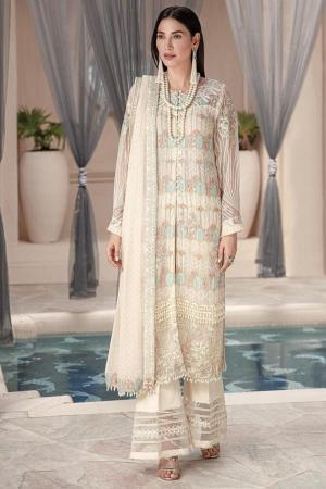 MOTIFZ | EMBROIDERED BEMBERG CHIFFON Collection | MERINO-2576