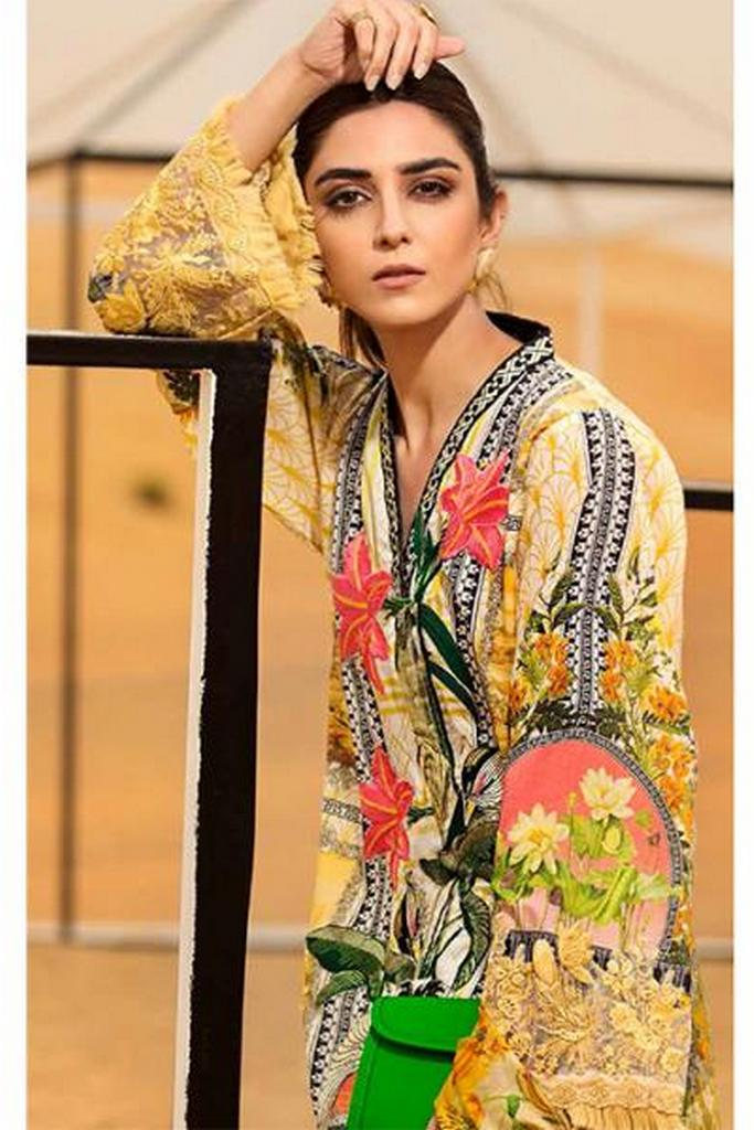 SAIRA SHAKIRA | CRIMSON LUXURY LAWN Collection | CL-06 B