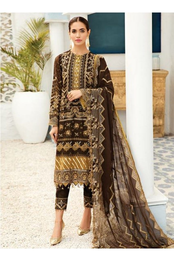 ALIZEH FASHION | LUXURY CHIFFON Collection | AUTUMN TRIBAL-03