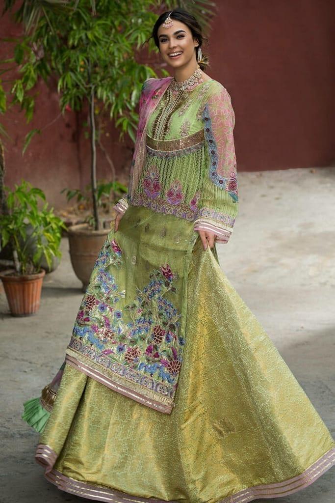 ASIFA N NASEEB | WEDDING/Formals Collection | FEROZA ZN-07