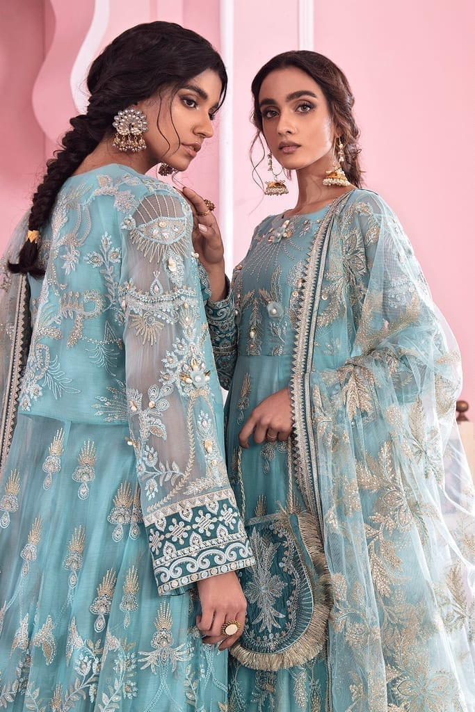 IZNIK | BANARAS LUXURY CHIFFON Collection | JAL | IB-06