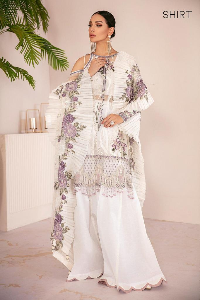BAROQUE   Chantelle Embroidered Collection   FLO WHITE