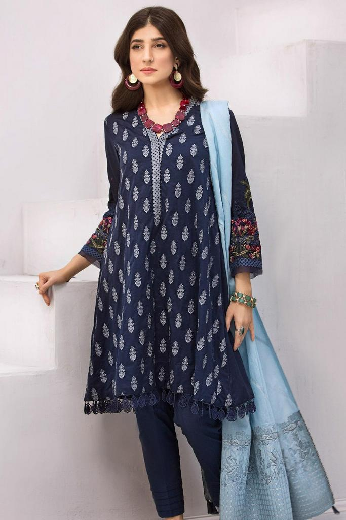 IZNIK | Embroidered Lawn | Festive Collection | 05 PUKHRAJ
