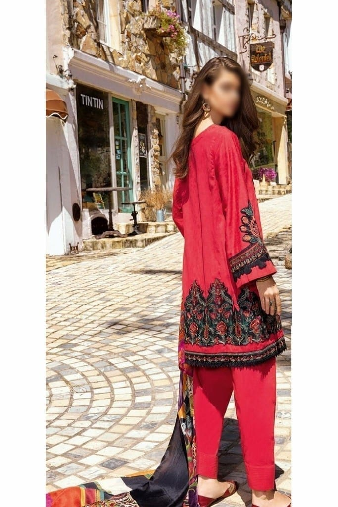 IZNIK | LUXURY LAWN Collection | Cherry | D-09