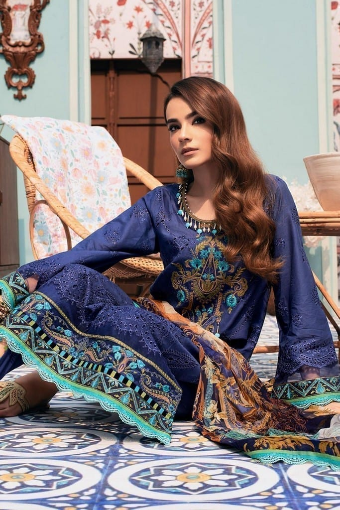 NOOR BY SADIA ASAD | CHIKANKARI'21 Collection | D6-KALON