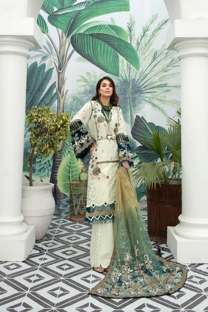 ADANS LIBAS | SHIFFLI EMBROIDERED SUMMER Collection | FOLIAGE RUSTLE