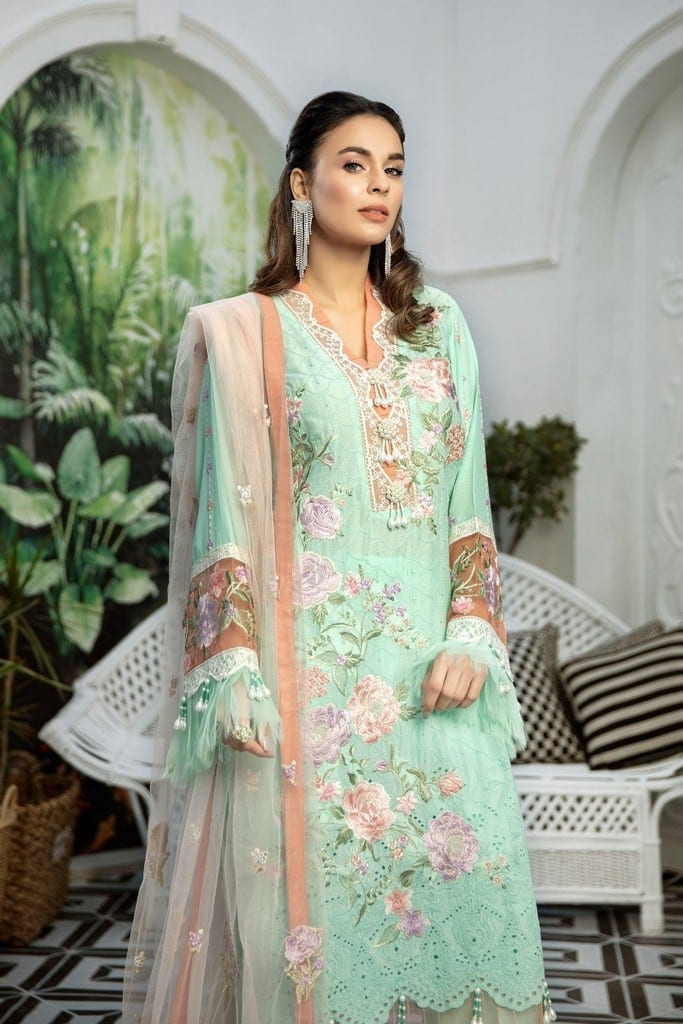ADANS LIBAS | SHIFFLI EMBROIDERED SUMMER Collection | BRILLIANT BOTANICA
