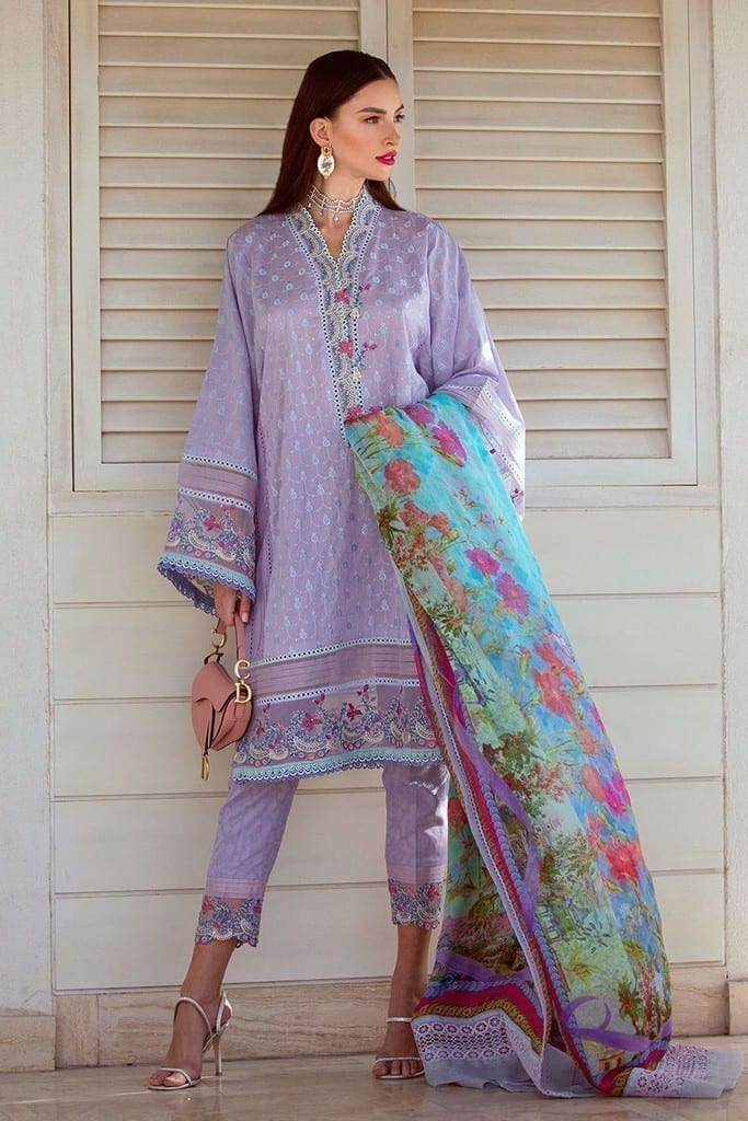 FARAH TALIB AZIZ | NERA SPRING/SUMMER Collection | LEAL LAVENDER FTA-14