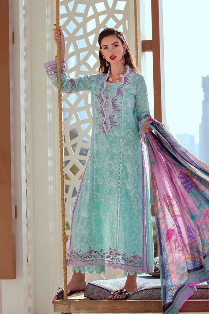 FARAH TALIB AZIZ | NERA SPRING/SUMMER Collection | VERA SEAFOAM FTA-06