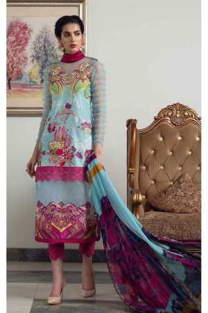 ASIFA N NABEEL | LUXURY LAWN Collection | 9-T RAINBOW