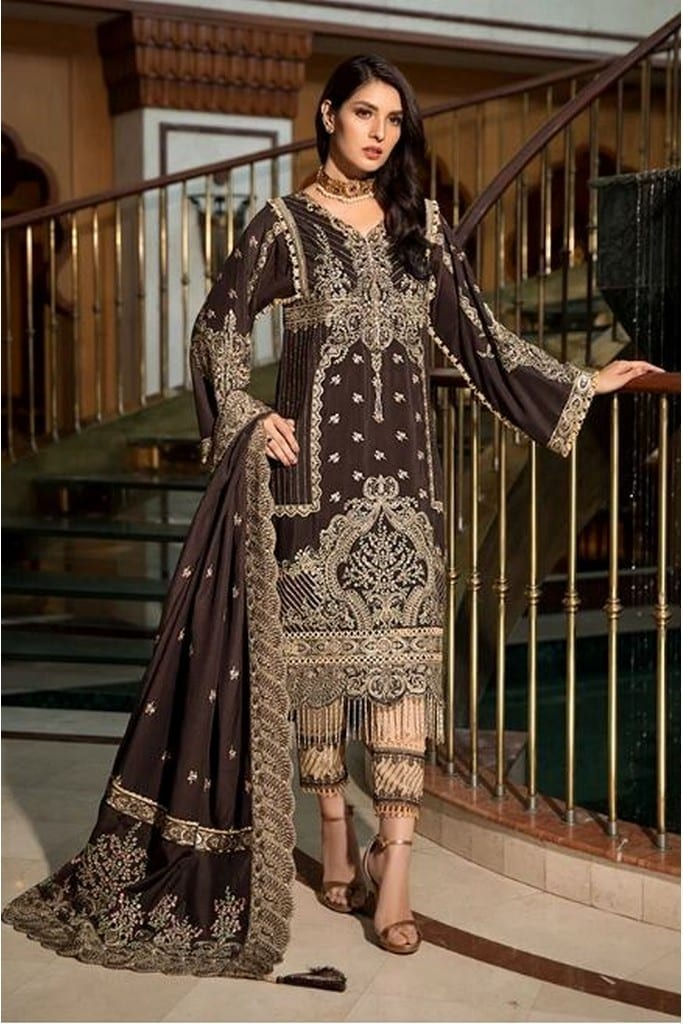 MOTIFZ | EMBROIDERED KRANDI | 2373-REGAL-BROWN